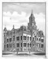 Muskingum Court Records Muskingum County Court House Atlas Muskingum County 1875 Ohio Historical Map