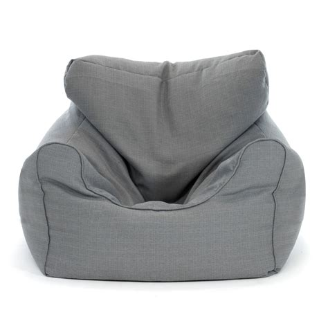 grey bean bag chair large grey bean bag chair kmart