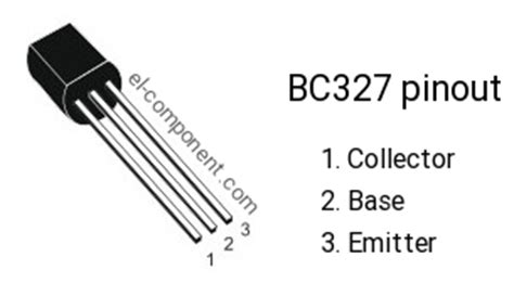 transistor bc327 equivalent bc327 p n p transistor complementary npn replacement pinout pin configuration substitute