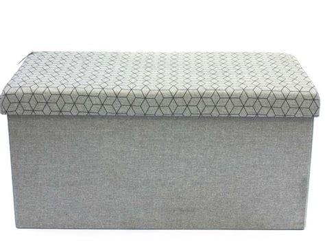 Banc Coffre Tissu by Coffre Rangement Banc Tissu