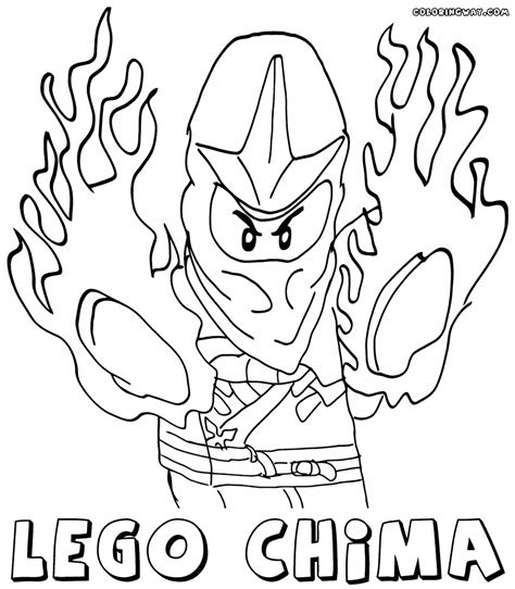 Lego Chima Leonidas lego chima coloring pages coloring pages to and