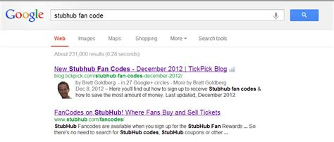 stubhub fan code discount tickpick coupon release date price and specs