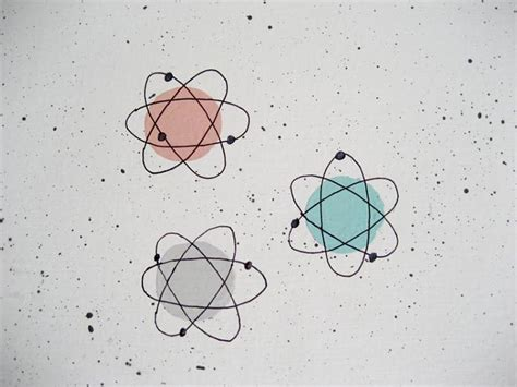 Midcentury Modern Wallpaper - rose stencils atomic painted wallpaper to perk up her