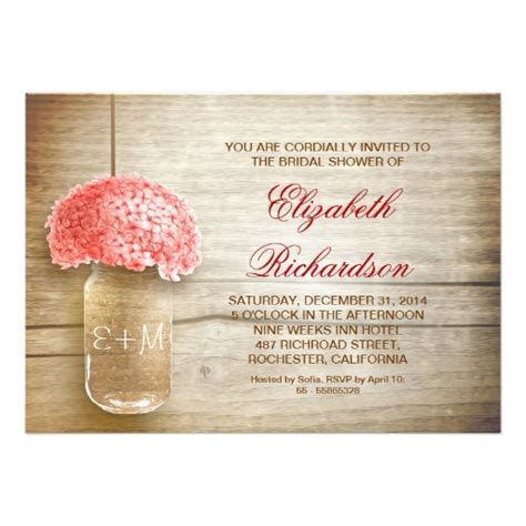 country rustic jar bridal shower invites 2 country rustic jar bridal shower invitation card