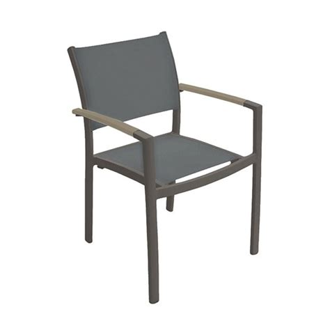 aluminum dining chairs sono sling dining chair with aluminum frame by tropitone