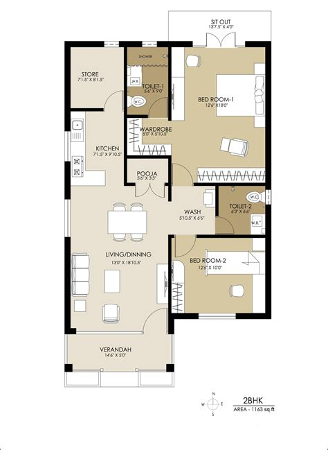 2 bhk floor plans enchanting 2bhk home design in including bhk independent
