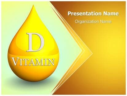 powerpoint templates vitamin free vitamin d powerpoint template background