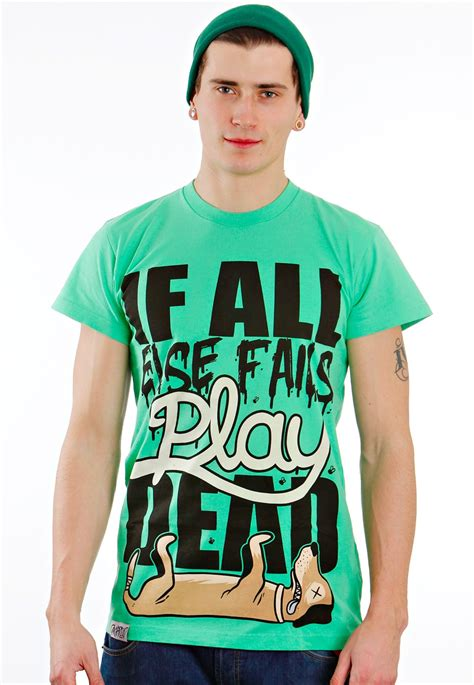 Drop Dead Shirt drop dead play dead green t shirt impericon