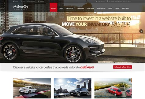 7 Best Car Websites For by Top 20 Car Automotive Themes 2018 Colorlib