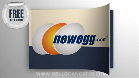 Free Newegg Gift Card - newegg hellogangster