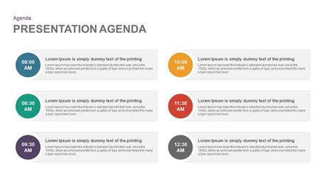 Presentation Agenda Powerpoint And Keynote Template Powerpoint Agenda