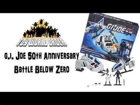 Hasbro Gi Joe 50th Anniversary Battle Below Zero Vehicle Pack hasbro g i joe 50th anniversary battle below zero box set review