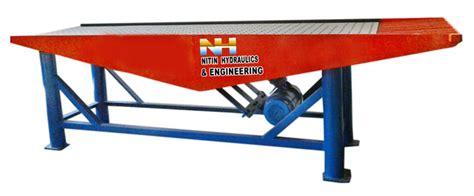 industrial vibration table concrete vibration table