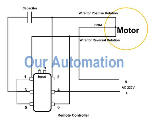 how to replace dpdt switch with remote controller to