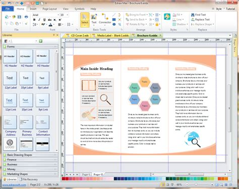 how to make a software leaflet software create attractive leaflets in minutes