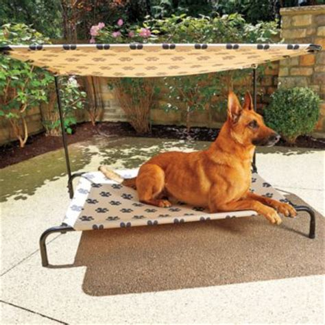 outside dogs indoor outdoor bed