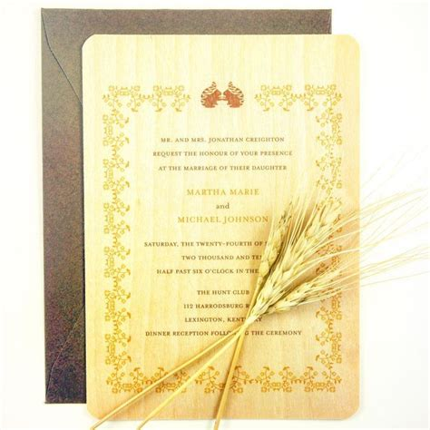 Idaho Wedding Invitations Printed by 22 Best Images About Wood Custom Invitations By Honey