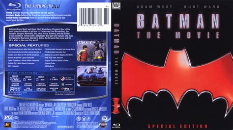 film blu ray batman the movie blu ray dvd cover 1966