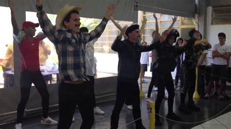 tutorial dance ymca y m c a choreography doovi