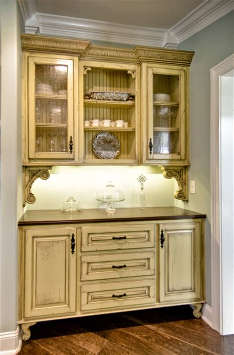 vintage style butlers pantry traditional kitchen