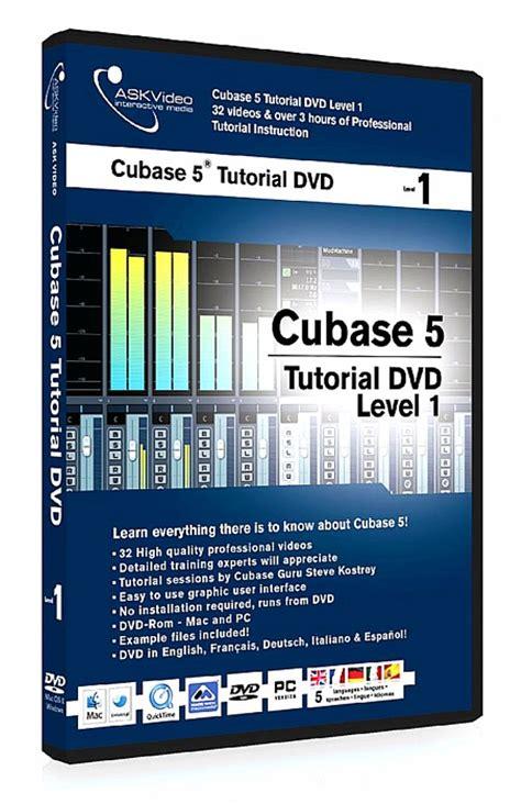 cubase 5 1 tutorial steinberg ask video ask video cubase 5 tutorial dvd level 1 vinyl at