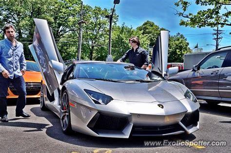 Lamborghini Greenwich Lamborghini Aventador Spotted In Greenwich Connecticut On