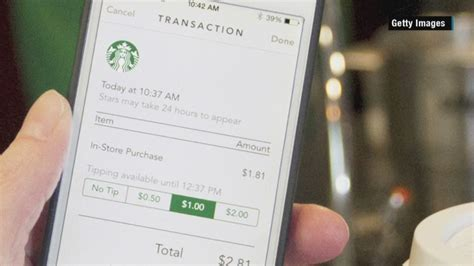 Add Starbucks Gift Card To Wallet - hackers are draining bank accounts via the starbucks app may 13 2015