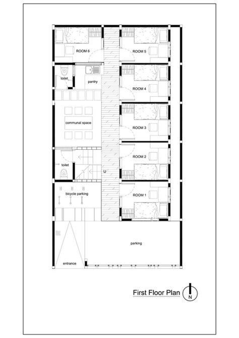 boarding house floor plan bioclimatic and biophilic boarding house andyrahman