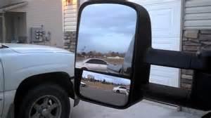 chevy silverado tow mirrors install part 2