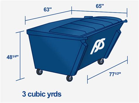 3 Cubic Yards Papillion Sanitation Commercial Trash And Recycling