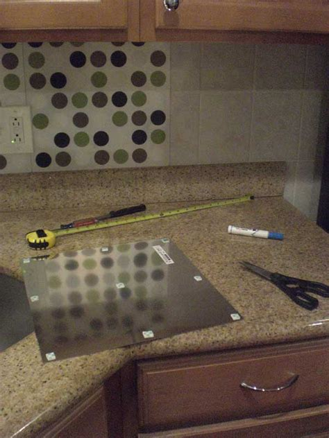 18 Easy Diy Projects That Will Simplify Your Kitchen Temporary Backsplash Ideas