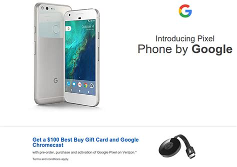 Best Buy Gift Card Activation - get 100 gift card and chromecast from best buy on purchase and activation of google