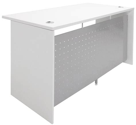 Semi Circular Reception Desk White Semi Circular Glass Top Reception Desk