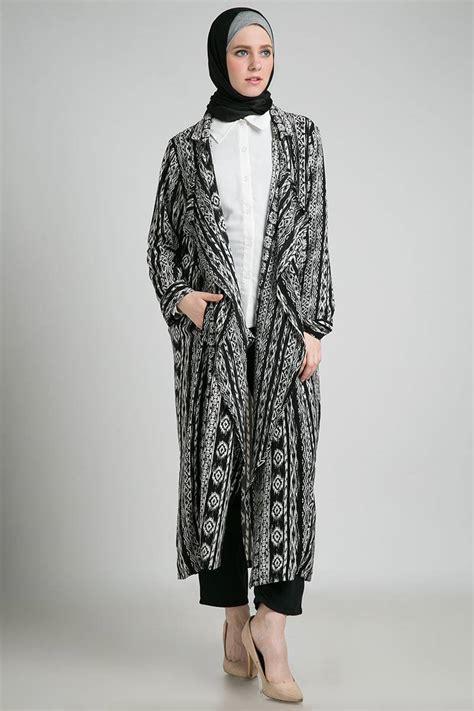 Blus Muslim Tunik Blazer W4ue blezer masa kini trend busana muslim terbaru model tunik