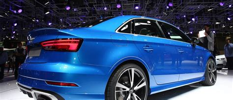 400 Horsepower Sedans by Update1 Audi Pulls No Punches With 400hp Rs3 Sedan