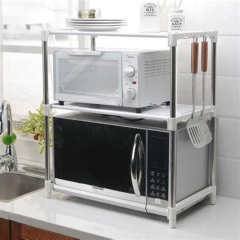 Shelf Microwave Oven by 2014 Limited Seconds Kill White Black Metal Microwave Oven