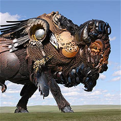 Giant Steampunk Turtle Made Of Thousands Of Pieces Of