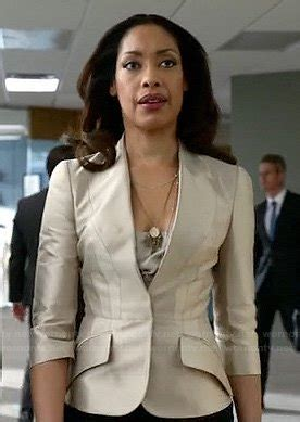 Suits Pearson Wardrobe by Wornontv Jessica S Chagne Blazer On Suits