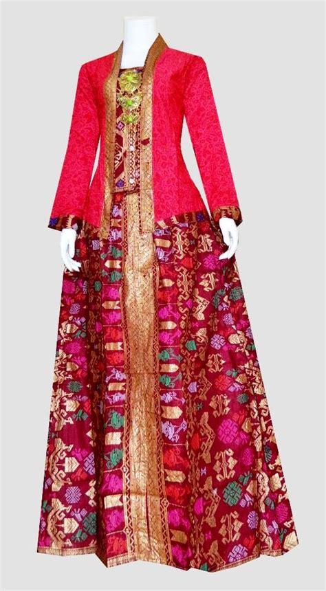 Baju Batik Gamis Baju Batik Modern Gamis Modern ッ 23 model baju gamis batik kombinasi blazer cantik dan terpopuler