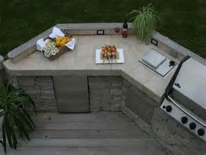 outdoor how to outdoor kitchen countertop material