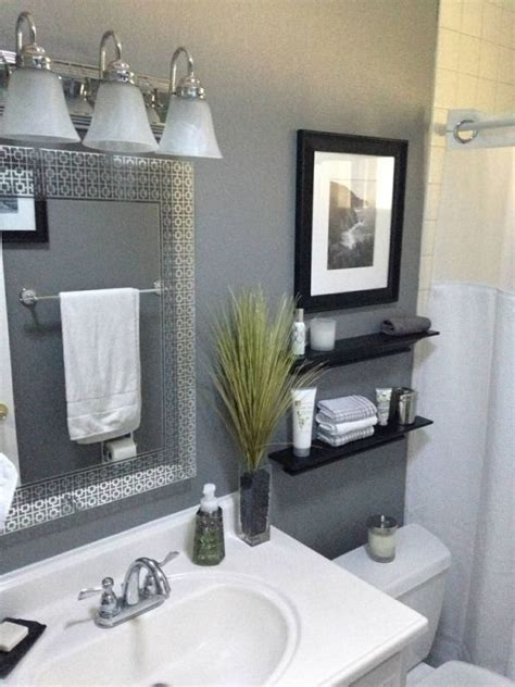 25  best ideas about Grey Bathroom Decor on Pinterest   Bathroom ideas, Small bathroom colors