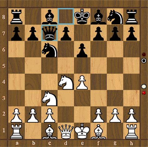 chess sicilian defence variations