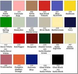 spray paint color chart valspar spray paint color chart images