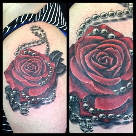 images of pearls and roses tattoo s pearls tattoo
