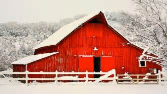 Metal Barn Plans Big Red Barn In The Snow Photograph By Gregory Dean