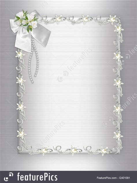 wedding invitation background elegant stock illustration