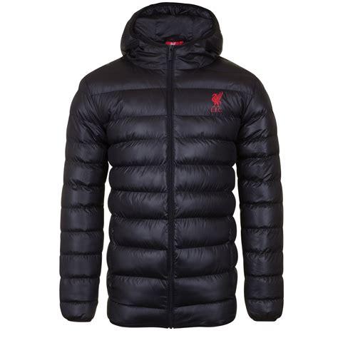 Jaket Sweater Hoodie Liverpool Halt Zipper Black liverpool fc official football gift mens quilted hooded winter jacket ebay