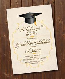 graduation invitation cards templates 59 invitation card exle free sle exle format