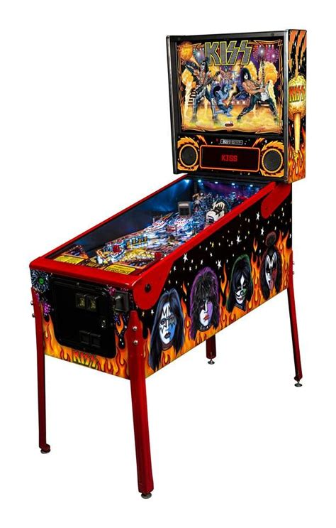 new themes kiss new kiss pinball machines available through stern pinball