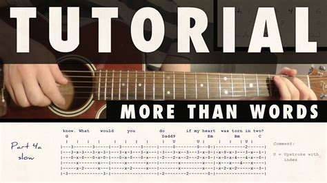 tutorial guitar more than words tutorial more than words by extreme youtube